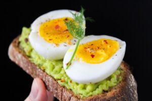 EGGS - healthy food for weight loss